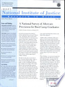 A National Survey of Aftercare Provisions for Boot Camp Graduates Book