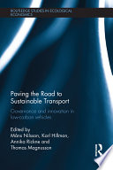 Paving The Road To Sustainable Transport Book PDF