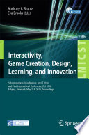 Interactivity  Game Creation  Design  Learning  and Innovation