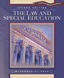 The Law And Special Education Book PDF