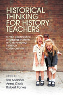 Historical Thinking for History Teachers Book