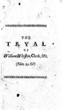 The Tryal of William Whiston, Clerk