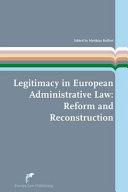 Legitimacy in European Administrative Law