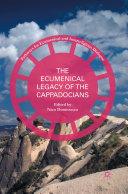 The Ecumenical Legacy of the Cappadocians Pdf/ePub eBook
