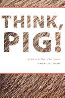 Pdf Think, Pig!