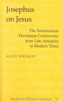 Josephus on Jesus