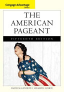 Cengage Advantage Books  The American Pageant