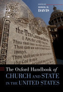 The Oxford Handbook of Church and State in the United States Pdf/ePub eBook