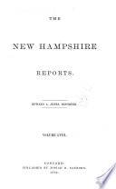 The New Hampshire Reports