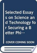 Selected Essays on Science and Technology for Securing a Better Philippines Book
