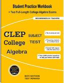 CLEP College Subject Test Algebra