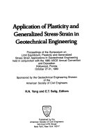 Application of Plasticity and Generalized Stress strain in Geotechnical Engineering Book