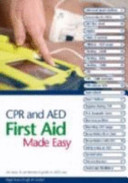 CPR and AED First Aid Made Easy Book