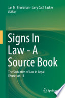Signs In Law A Source Book