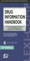 Drug Information Handbook Book