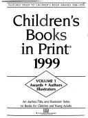 Children S Books In Print 1999 Book PDF