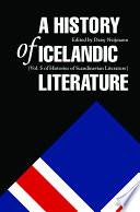 A History of Icelandic Literature