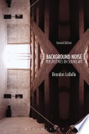 Background Noise Second Edition Book PDF