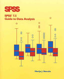 Spss 7 5 Guide To Data Analysis