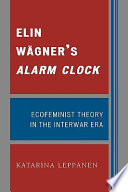 Elin Wägner's Alarm Clock