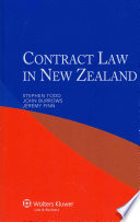 Contract Law in New Zealand