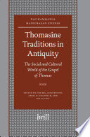 Thomasine Traditions In Antiquity