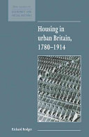 Housing in Urban Britain 1780 1914