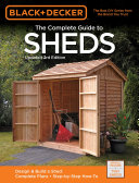 Black & Decker The Complete Guide to Sheds 3rd Edition