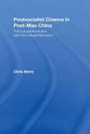 Postsocialist Cinema in Post-Mao China