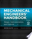 Mechanical Engineers  Handbook  Design  Instrumentation  and Controls