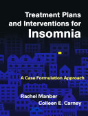 Treatment Plans and Interventions for Insomnia [Pdf/ePub] eBook