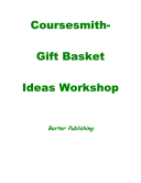 Coursesmith- Gift Basket Ideas Workshop