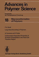 Advances in Polymer Science