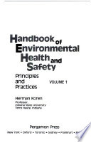 Handbook of environmental health and safety