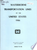 Waterborne Transportation Lines Of The United States