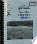 Cache National Forest (N.F.), Swan Flat Timber Sale