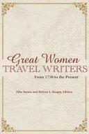 Great Women Travel Writers