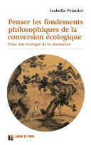 Pdf Penser les fondements philosophiques de la conversion écologique Telecharger