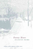 Selected Poems of Fanny Howe