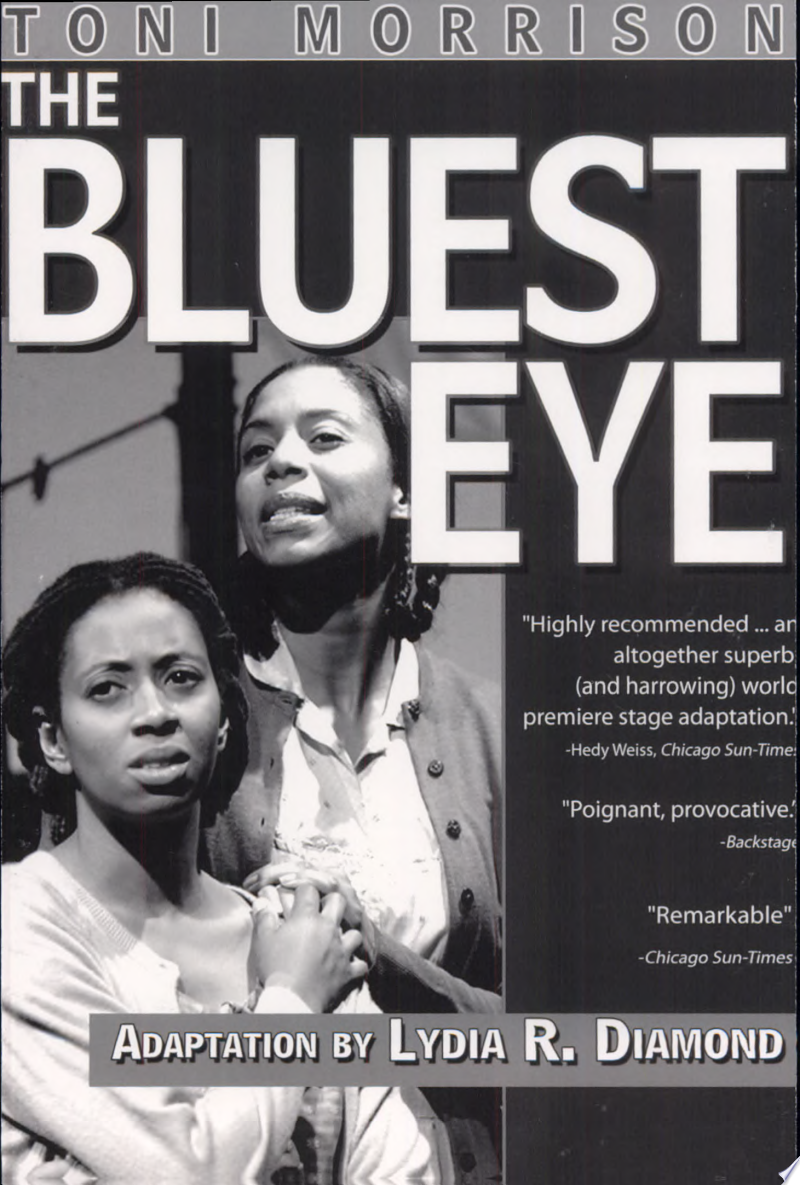 Toni Morrison's The Bluest Eye banner backdrop
