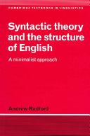 Syntactic Theory and the Structure of English