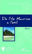 Pdf De l'île Maurice à l'exil Telecharger