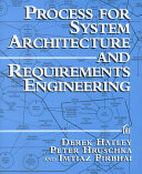 Process for System Architecture and Requirements Engineering