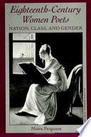 Eighteenth-Century Women Poets