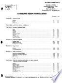 Landscape Design and Planting