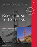 Cover of Refactoring to Patterns