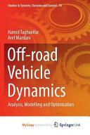 Off road Vehicle Dynamics Book