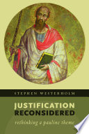 Justification Reconsidered Book