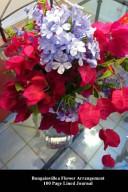 Bougainvillea Flower Arrangement 100 Page Lined Journal