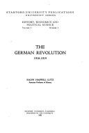 The German Revolution  1918 1919